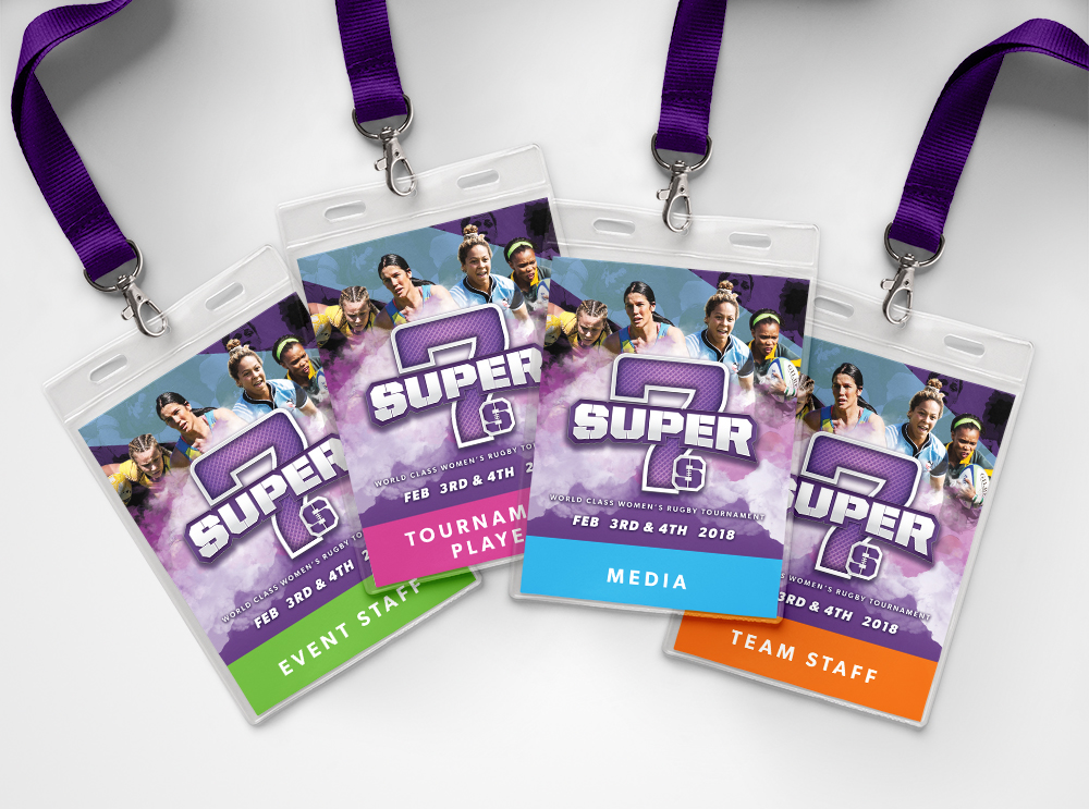 Super 7s Accreditation Passes